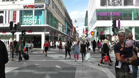 Stockholm Drottniggatan 4 Footage