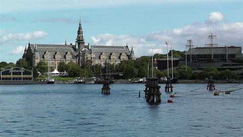 Stockholm Junibacken Stock Video Footage