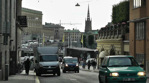 Stockholm Norrmalm 5 Stock Video Footage