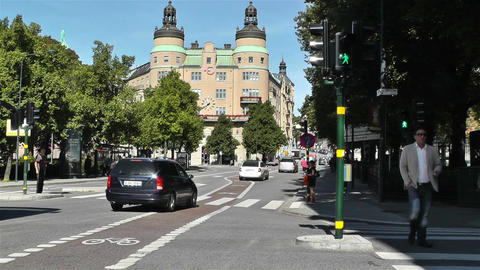 Stockholm Norrmalm 12 Stock Video Footage