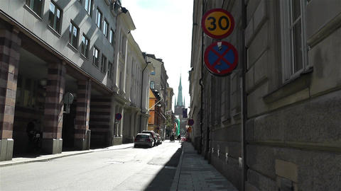 Stockholm Norrmalm 14 Stock Video Footage