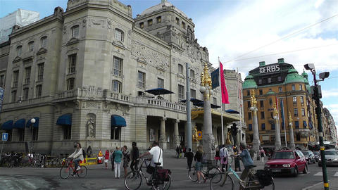 Stockholm Royal Dramatic Theatre 1 Footage