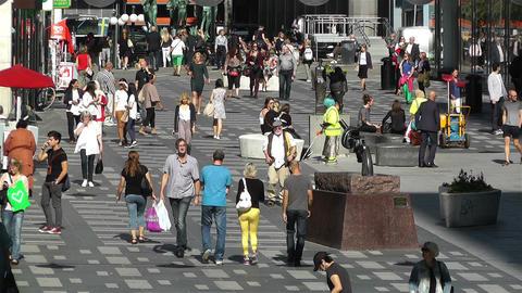 Stockholm Sergelgatan 2 Footage