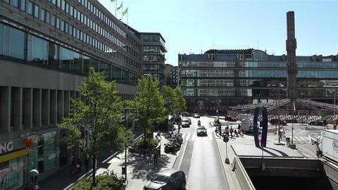 Stockholm Sergel Sqaure 1 Footage
