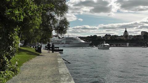 Stockholm Skeppsholmem 1 Footage