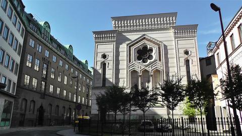 Stockholm Synagogue Sweden 1 Footage