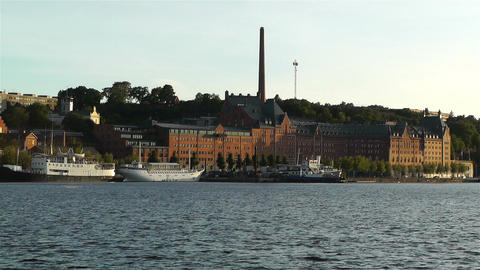 Stockholm View 1 Stock Video Footage