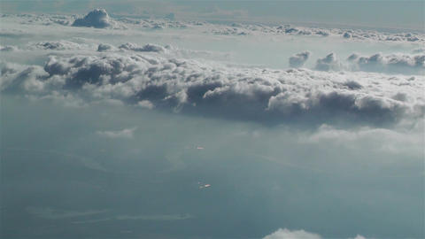 Stratocumulus from Above 2 Footage