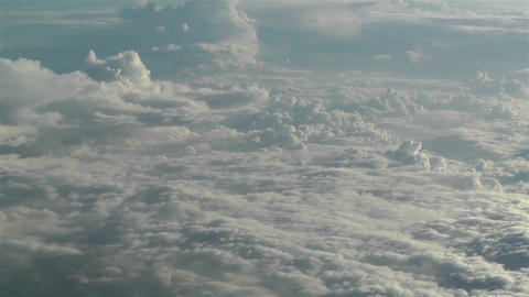 Stratocumulus from Above 4 Stock Video Footage