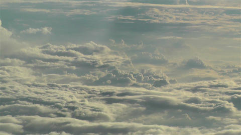 Stratocumulus from Above 6 Stock Video Footage