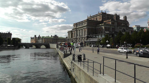 Swedish Opera Stockholm 1 Footage