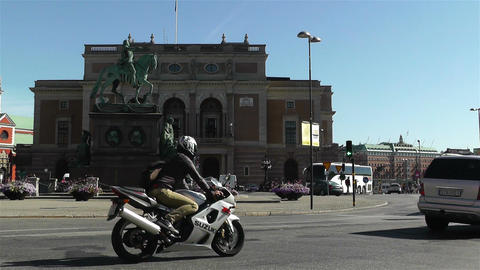 Swedish Opera Stockholm 3 Stock Video Footage