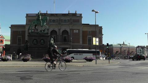 Swedish Opera Stockholm 3 Stock Video Footage