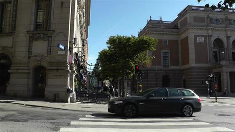 Swedish Opera Stockholm 5 Stock Video Footage