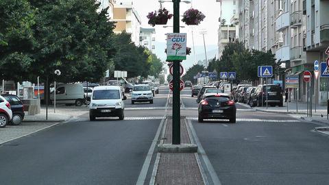 Town near Lisbon Portugal 5 Stock Video Footage