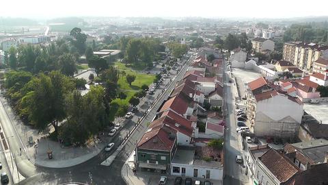 Town near Lisbon Portugal 15 aerial Footage