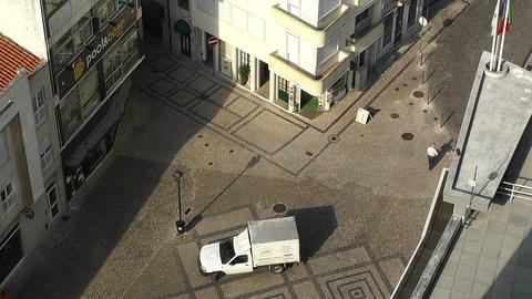 Town near Lisbon Portugal 19 aerial Footage