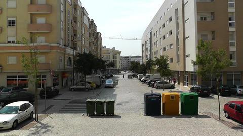 Town near Lisbon Portugal 29 Stock Video Footage