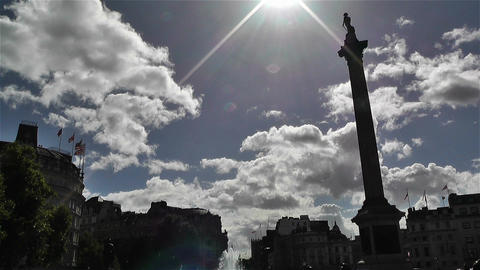 Trafalgar Square London 10 Footage