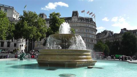 Trafalgar Square London 14 handheld Footage