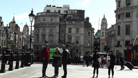 Trafalgar Square London 21 Footage