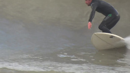 Surfing 1 Stock Video Footage