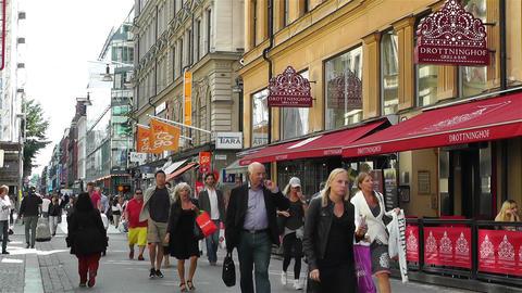Stockholm Drottniggatan 12 Footage