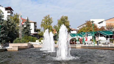Sandanski, Bulgaria Stock Video Footage