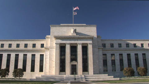 Federal Reserve Bank Washington DC Stock Video Footage