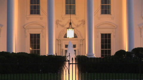 The White House Stock Video Footage