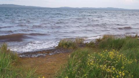 Lake Shira Waves 03 Footage