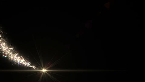 Light streaks and particles C 0a 2 HD Animation