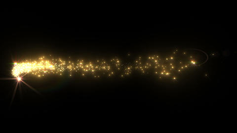 Light streaks and particles C 1b 2 HD Stock Video Footage