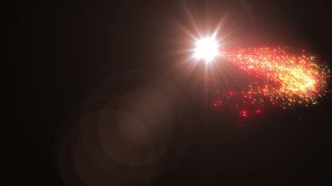 Light streaks and particles Cr 1b HD CG動画