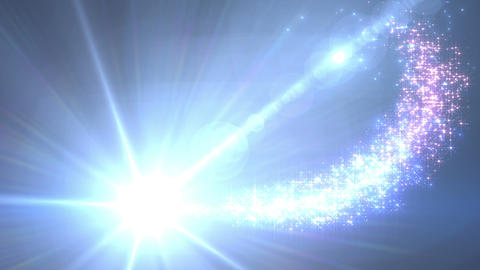 Light streaks and particles Dr 1a HD CG動画