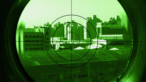 sniper Stock Video Footage