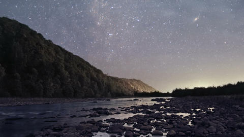 Night to day timelapse Stock Video Footage