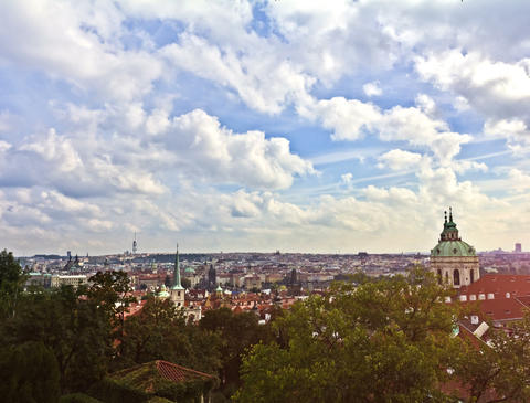 Prague. Time Lapse Footage