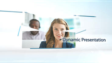 Dynamic Presentation - After Effects Template After Effects Project