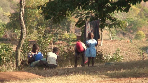 African Children (1) Stock Video Footage