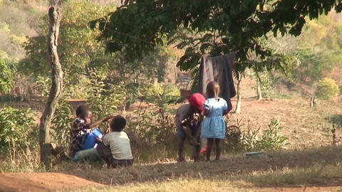 African Children (1) Footage