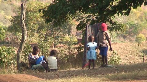 African Children (1) Stock Video Footage