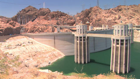 Hoover Dam Stock Video Footage