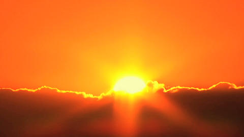 Sunset, Time Lapse Stock Video Footage