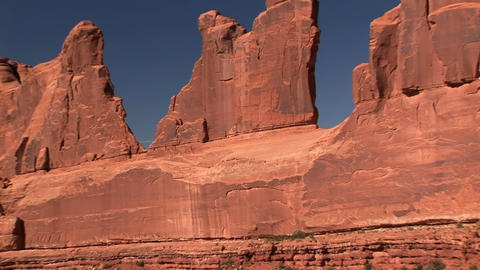 Park Avenue Rock Formation Stock Video Footage