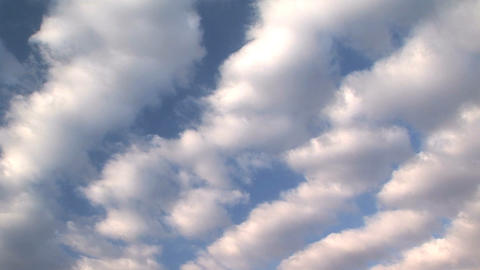 Cloudscape, Time Lapse stock footage