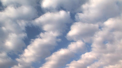 Cloudscape, time lapse Stock Video Footage