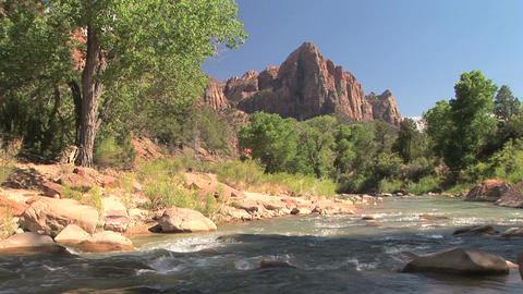 Zion stock footage