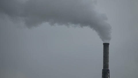 Industrial pollution Stock Video Footage