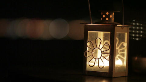 Lantern. Detail Footage
